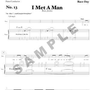 I Met A Man Sample Page
