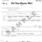 Do You Know Me Sample Page
