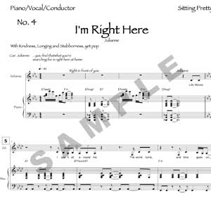 I'm Right Here Sample Page