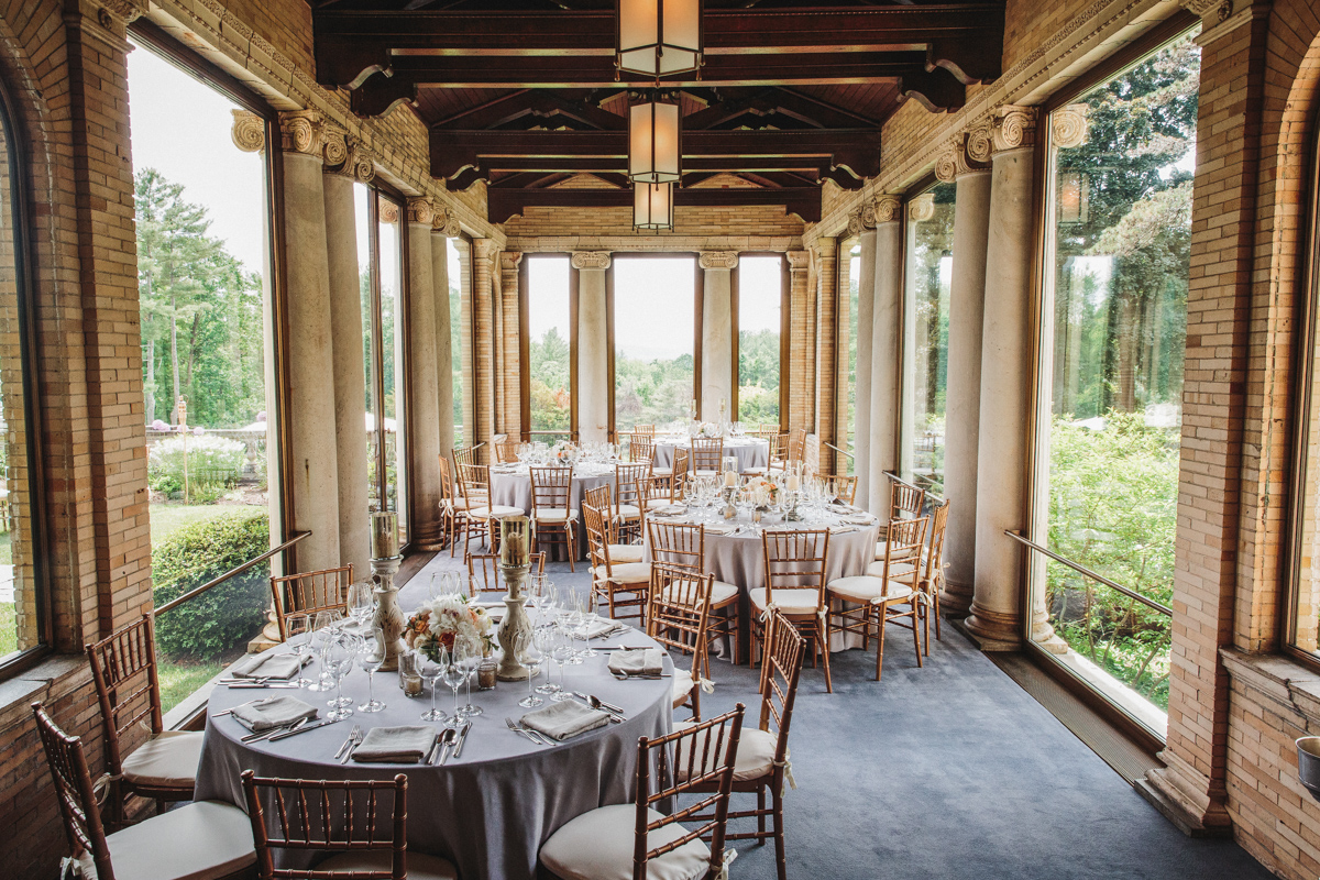 fine dining at the wheatleigh hotel in lenox MA