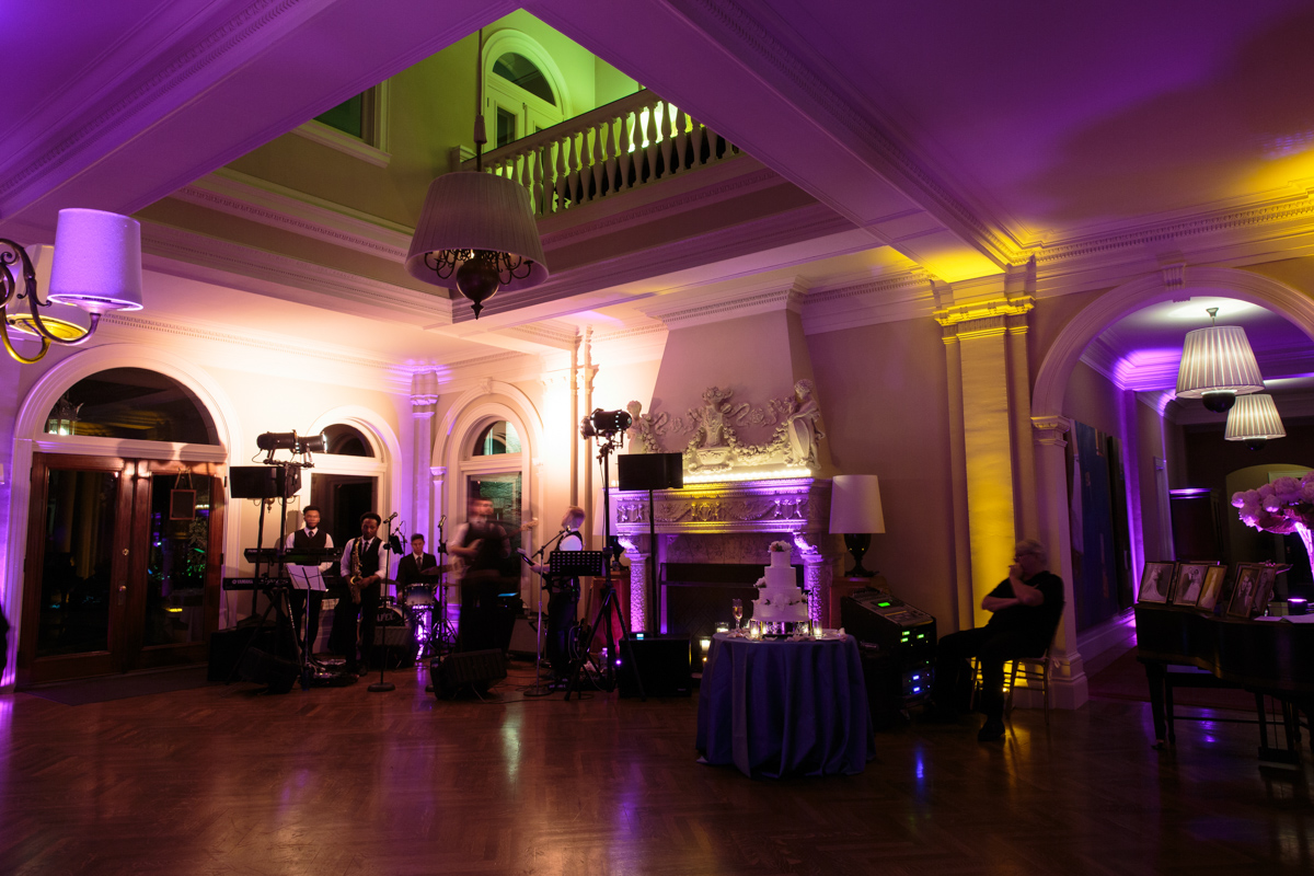 wedding reception at the wheatleigh hotel in lenox MA