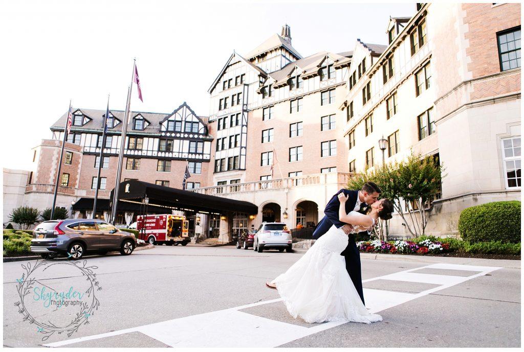 Jennifer + Todd | Roanoke Wedding Photographer | Hotel Roanoke Wedding