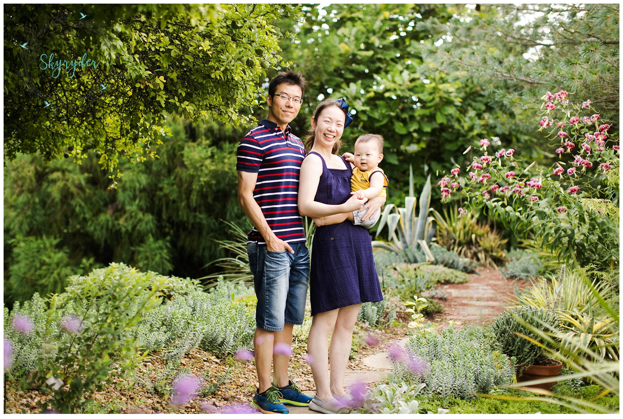 The Chu Family   Blacksburg Family Photographer