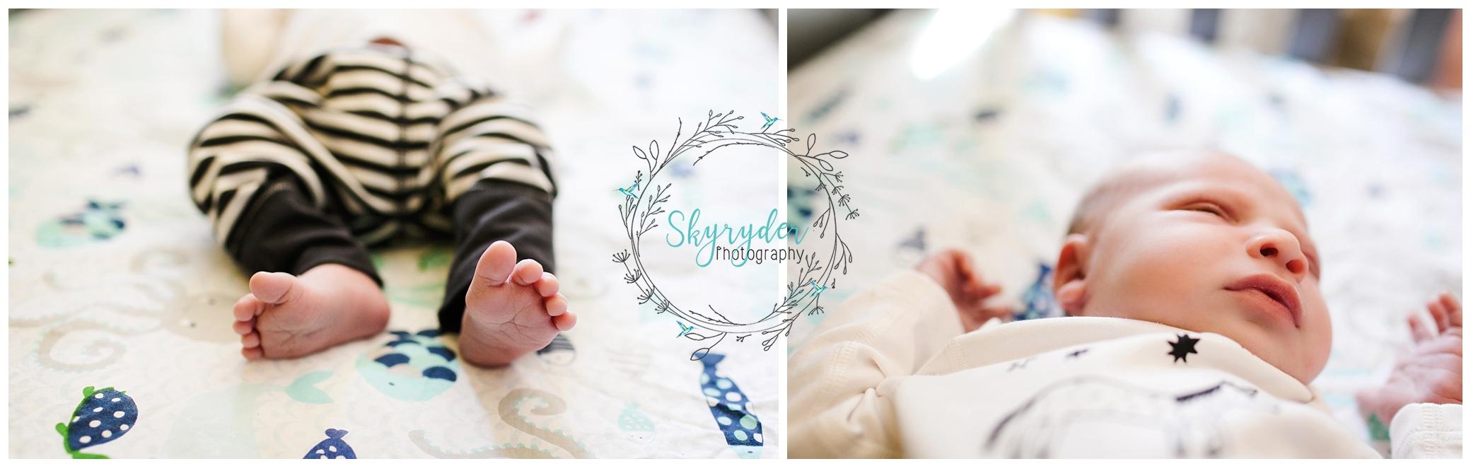 Baby Finn | Roanoke Lifestyle Newborn Photographer