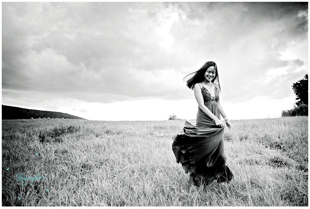 Mari   Blacksburg High School Senior Portrait Photographer