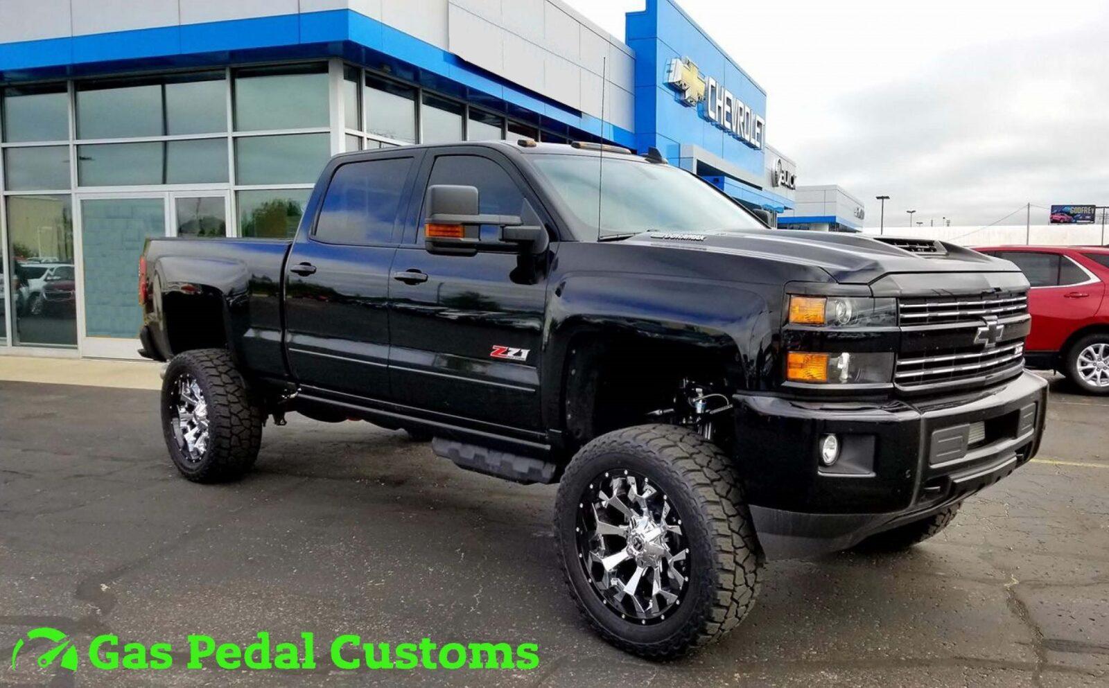 Custom Built Trucks - Gas Pedal Customs - Automotive Customizing