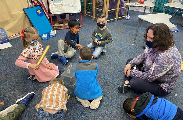 Jr. Kindergarten learning