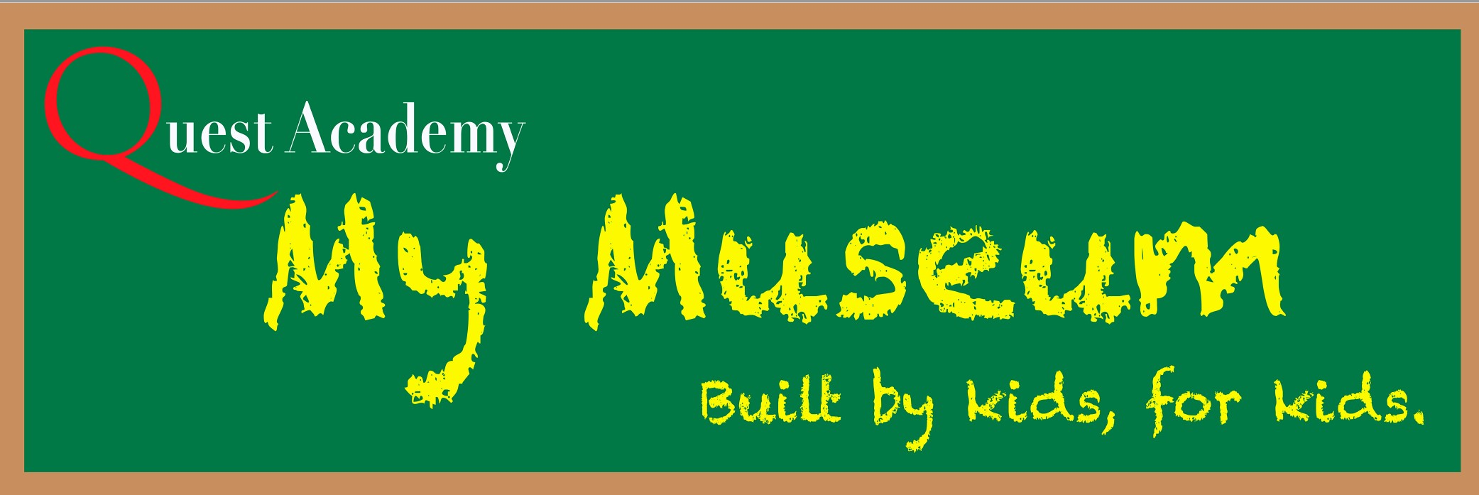 My Museum Banner