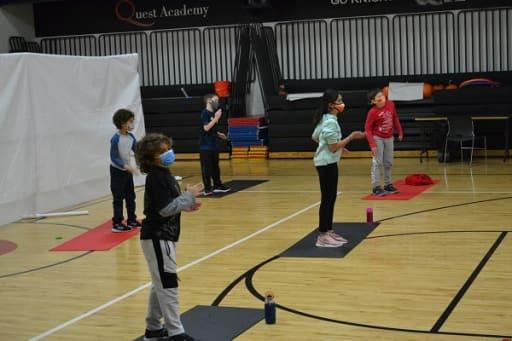 Socially distant Physical Education