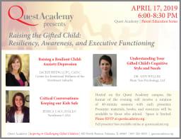 Parent Education Series, April 17