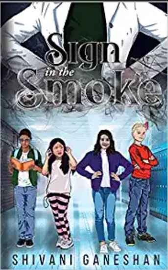 Sign in the Smoke Book cover by author Shivani