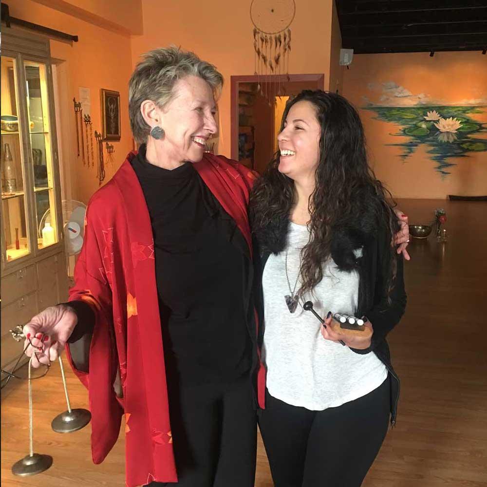 Bonnie Primm with Client