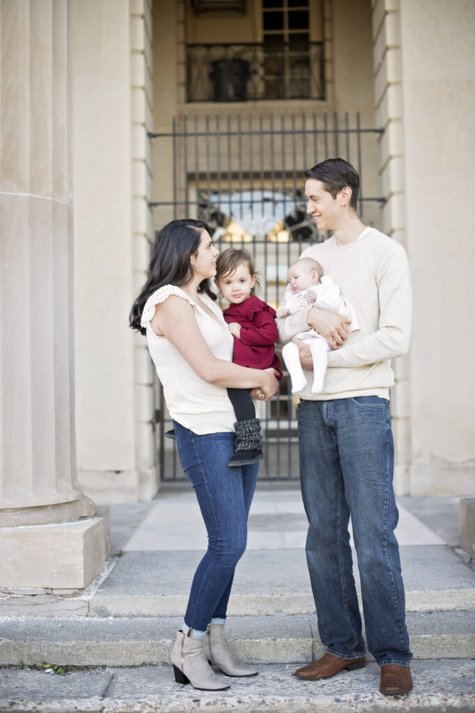 Saratoga Springs Family during photoshoot