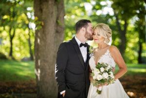 bride and groom saratoga springs new york