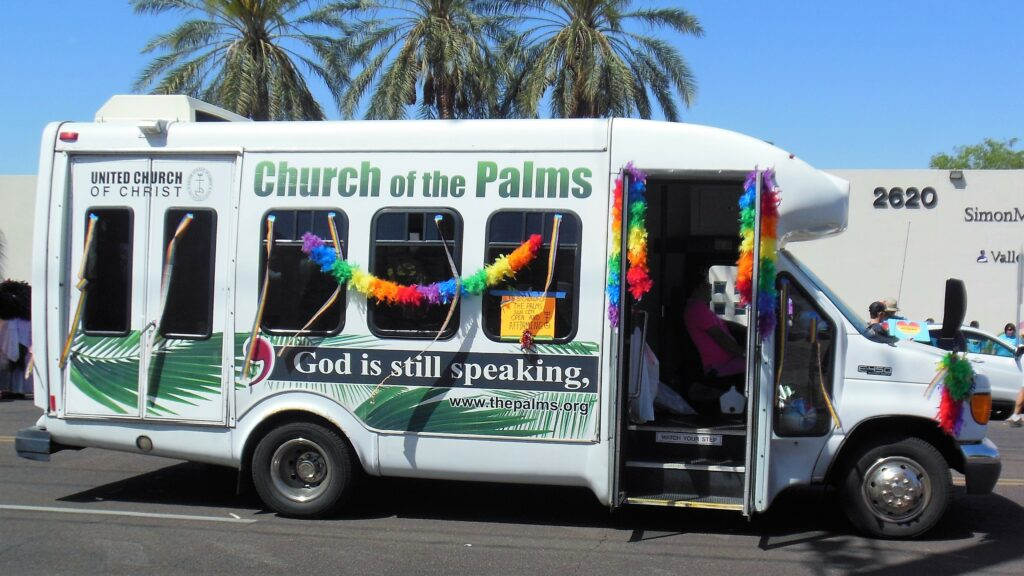 Church of the Palms bus