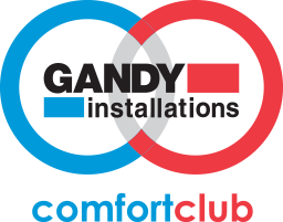 Gandy HVAC Comfort Club Stamp