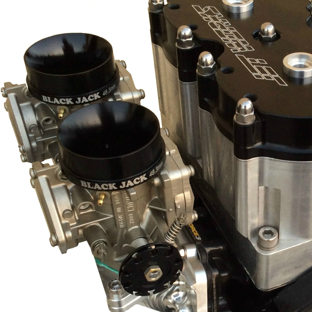 Black Jack 48.3mm on Jetworks 1100cc Freestyle Engine