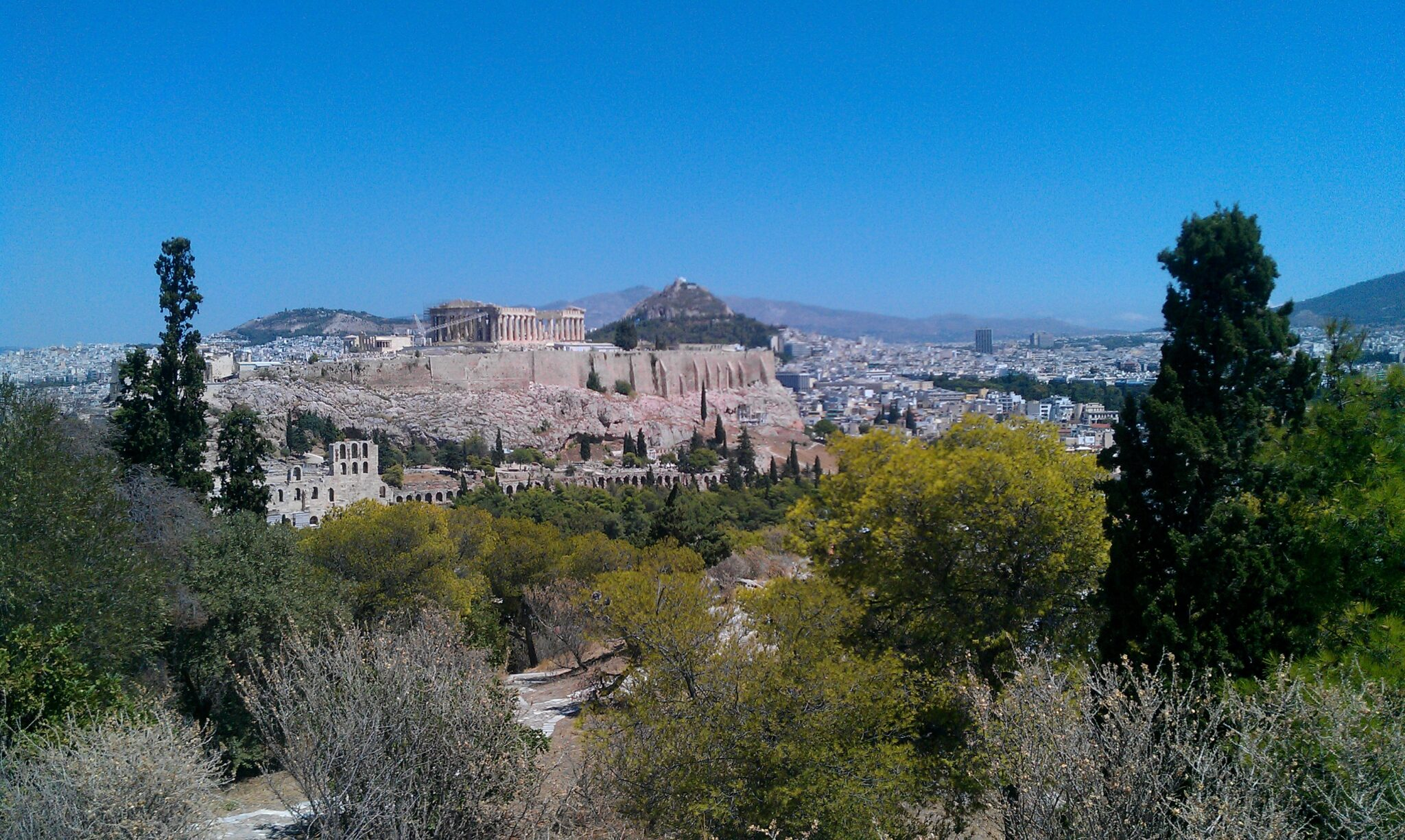 The Acropolis and Athens