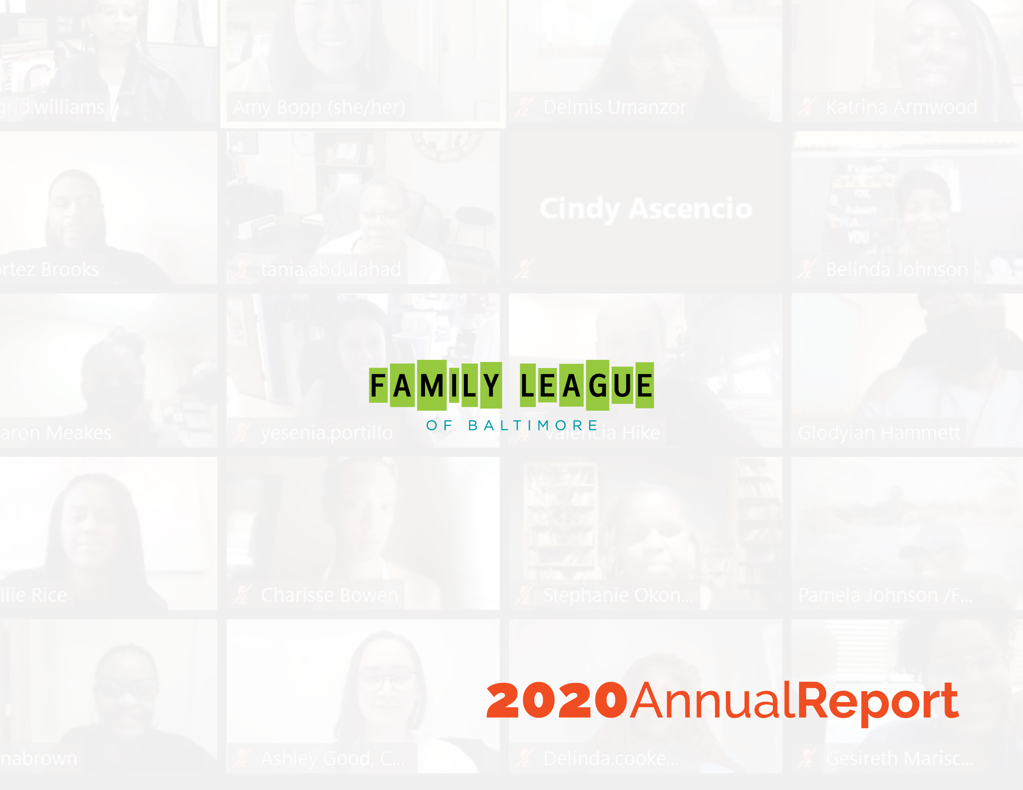 Family League 2020 Annual Report