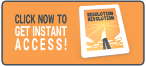 New Year Resolution Ideas - Resolution Revolution by Find Your Flow