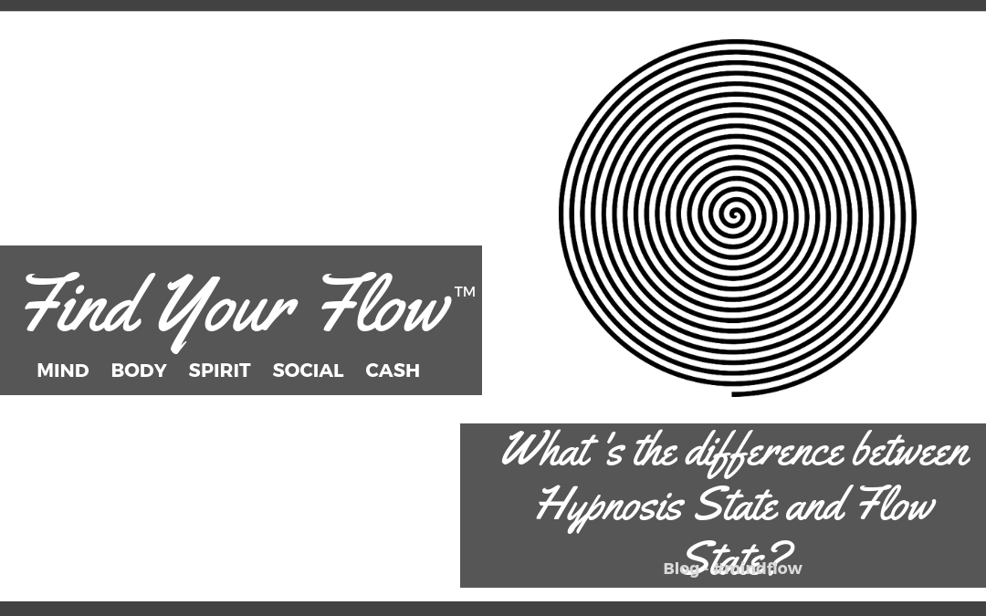 Find Your Flow Blog - What's the difference between hypnosis state and flow state #mindflow
