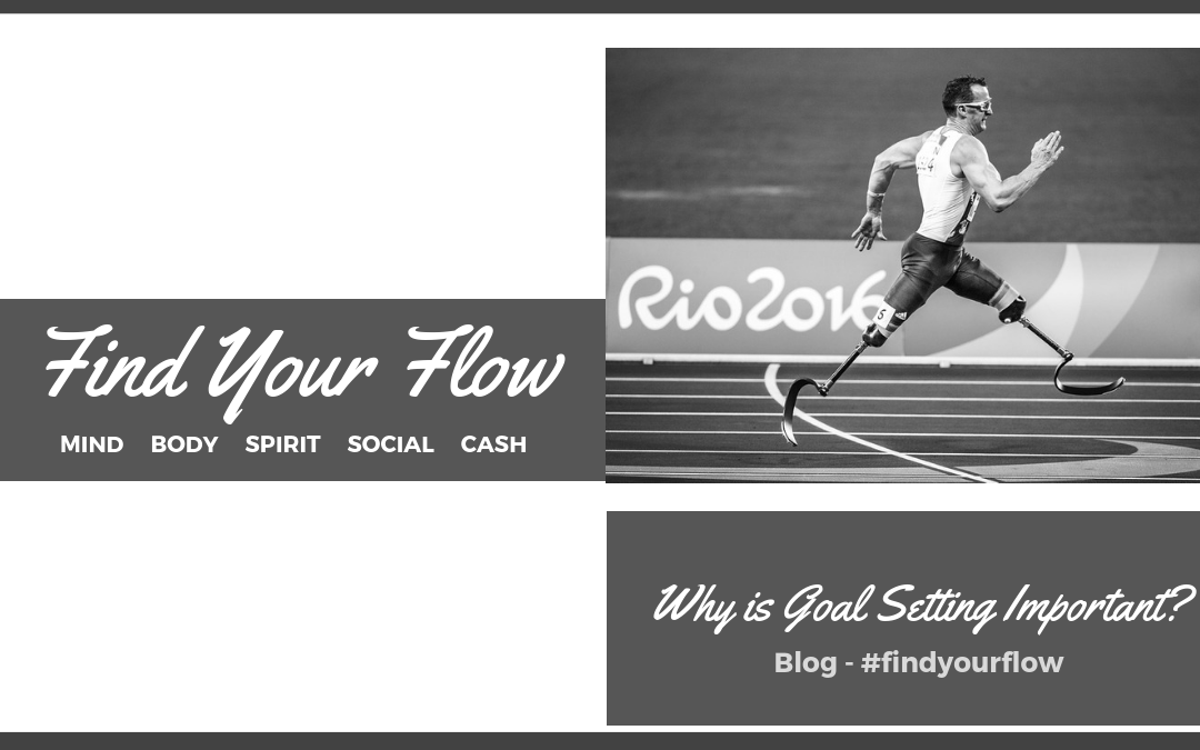 Find Your Flow Blog -Why is Goal Setting Important #findyourflow