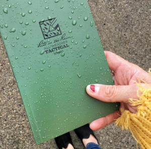 Averi Melcher Rainproof Notebook