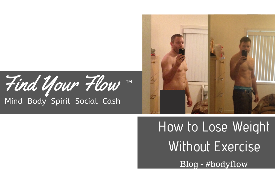 Find Your Flow Blog -How to Lose Weight Without Exercise #BodyFlow