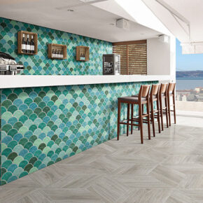 Captivating wall tile for outdoor living spaces