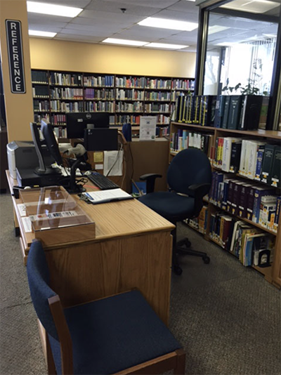 Adults Library Section
