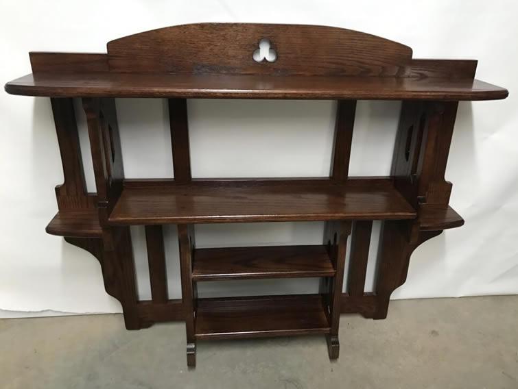 Custom Canister Shelf