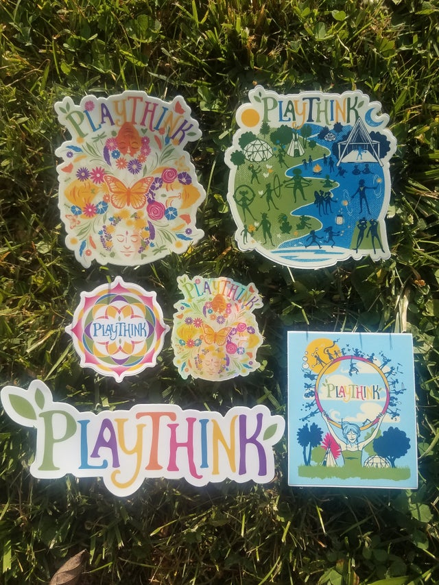 PlayThink Sticker Pack