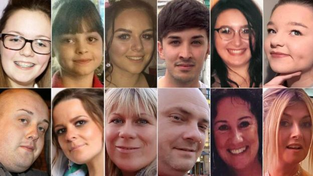12 innocents to be remembered