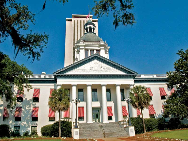 The Capitol, and downtown Tallahassee | Little English Guesthouse B&B, Tallahassee, FL