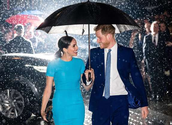 Meghan and Harry are back in Britain