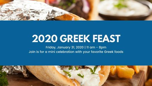This Friday, it's Greek Feast!!