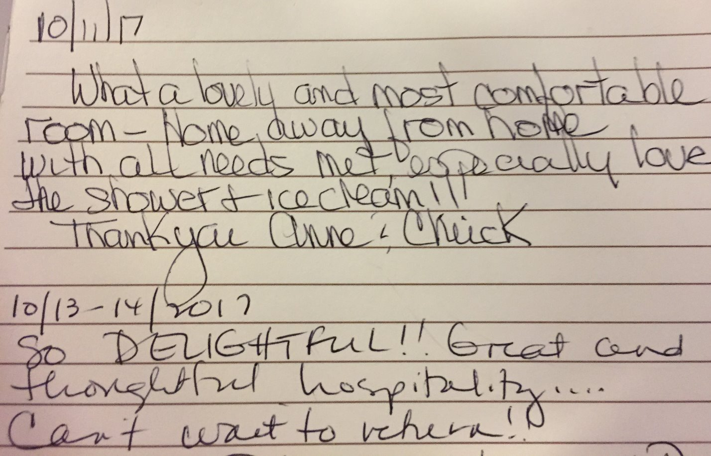Happy guests make us the best!