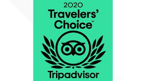 We earned the 2020 Travelers' Choice Award!