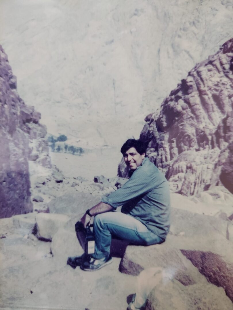 Steve visiting Mt. Sinai 1991, and 2 years later, receiving the Truth+Order+Love message. Going forward several more years, by the revelation of the Holy Spirit, he received the design and inscription for the Inscripted Teaching Cross.    Moses commandments and Steve's Cross, both were inspired by God.