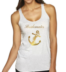 Bride, Maid of Honor, Bridesmaids T-Shirts Nautical Theme