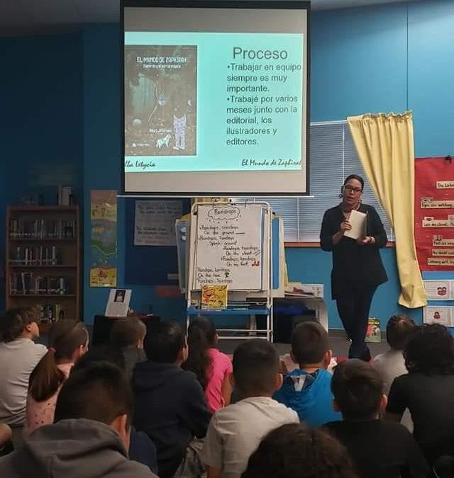 Presentación del proceso de un libro para niños de primaria