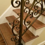 Detailed Scrolled Railing