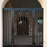 Entry Gate With Scroll Details