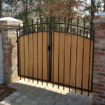 Arched Dual Gate