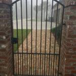 Narrow Patio Gate