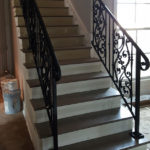 French Styled Staircase Handrails