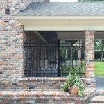 Courtyard Fence on Brick