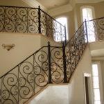 Multi-Level Staircase - Heavy Scrolls