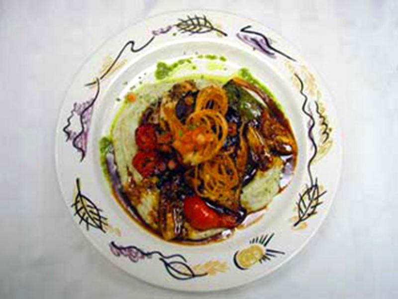 Herb Seared Chix Dish