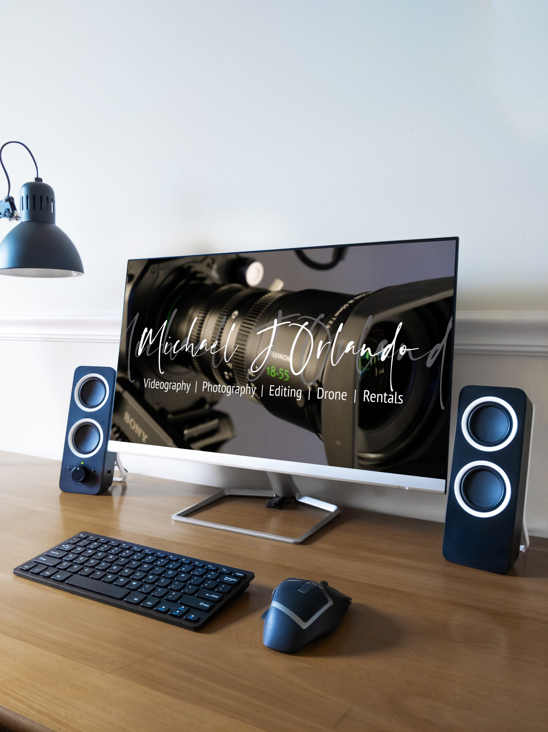 MJO Display Wood Desk